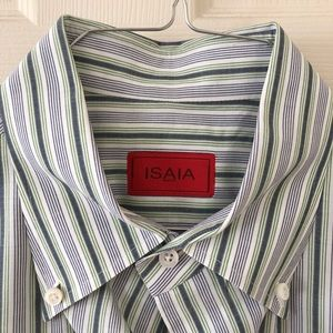 ISAIA Men's Dress Shirt